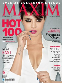 Priyanka Chopra - Maxim India December 2013