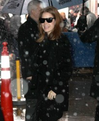Amy Adams - at GMA Studios in NYC 12/10/13
