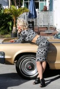 Rita Ora - On set of a photoshoot in Miami 12/10/13