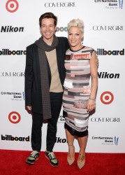 Pink - Billboard's Women in Music Event in NYC 12/10/13