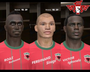 Pes 2014 Indonesia National Team Facepack vol.1 by mislam