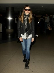 Miranda Cosgrove - at LAX Airport 12/11/13