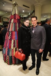 Michelle Trachtenberg - Brooks Brothers Celebrates The Holidays With St Jude Children's Research Hospital in NYC 12/12/13
