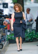 Jennifer Lopez - On the set of 'Shades of Blue' in New York (5/19/17)