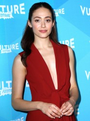 Emmy Rossum - 'Shameless' at Vulture Festival in NYC 5/21/17