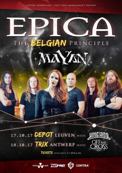 EPICA: The Belgian Principle Tour 931016549863110