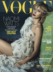 Naomi Watts -                      Vogue Magazine (Australia) June 2017 Emma Summerton Photos.