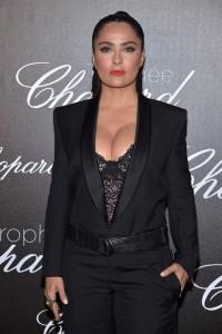 Salma Hayek - Chopard Trophy Photocall at the 70th Cannes Film Festival (5/22/17)