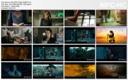 Melissa Benoist / Gal Gadot - Wonder Woman Trailer 1080TS 05-22-17