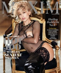 Hailey Baldwin - Named 2017 Maxim's Hot 100 World's Sexiest Woman