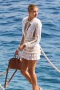 Hailey Baldwin - Leaving Eden Roc Hotel in Cannes 5/23/17