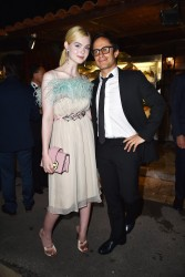 Elle Fanning - Prada Private Dinner in Cannes 5/22/17
