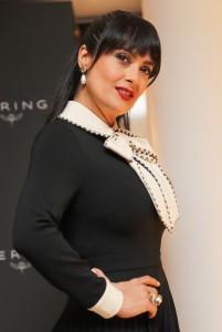 Salma Hayek - Kering Women in Motion Awards, 70th Cannes Film Festival (5/23/17)