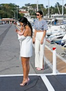 Kendall Jenner & Kourtney Kardashian - Out in Antibes, France 5/23/17