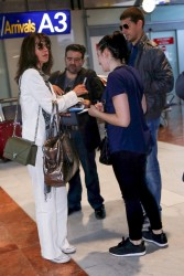 Sophie Marceau -               Nice Airport France May 24th 2017.