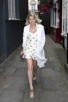 Mollie King - Out and about in London - 05/24/17