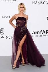 Hailey Baldwin - amfAR Gala in Cannes 5/25/17
