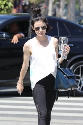 Lucy Hale - Going to the gym in West Hollywood 5/24/17