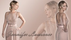 Jennifer Lawrence - Sexy Dress Wallpaper