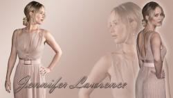 Jennifer Lawrence - Sexy Dress Wallpaper