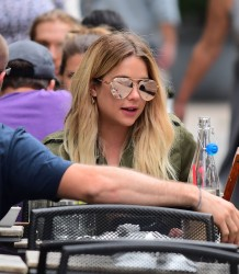 Ashley Benson - Having lunch in NYC 5/27/17