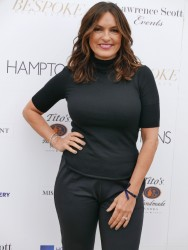 Mariska Hargitay -                 	Hamptons Magazine Memorial Day Soiree Southampton New York May 27th 2017 With Hilary Swank.