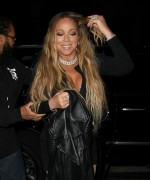 Mariah Carey - Wears Black Seamed Stockings At Catch in West Hollywood (5/25/17)
