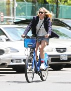 Chloe Sevigny | Riding a CitiBike in NYC | May 28 | 23 pics