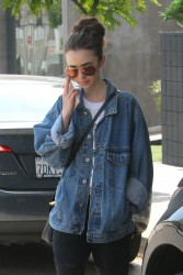 Lily Collins - Out in West Hollywood 5/29/17
