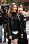 Hilary Swank -             AOL Build New York City May 31st 2017.