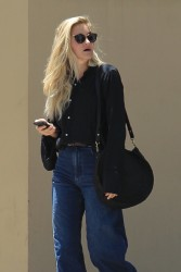 Amanda Michalka - Out for lunch in Beverly Hills 6/28/17