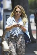 Hilary Duff - Out in Santa Monica 7/5/17