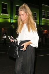 Lottie Moss - Leaving Embargo Republica Night Club in London 7/6/17